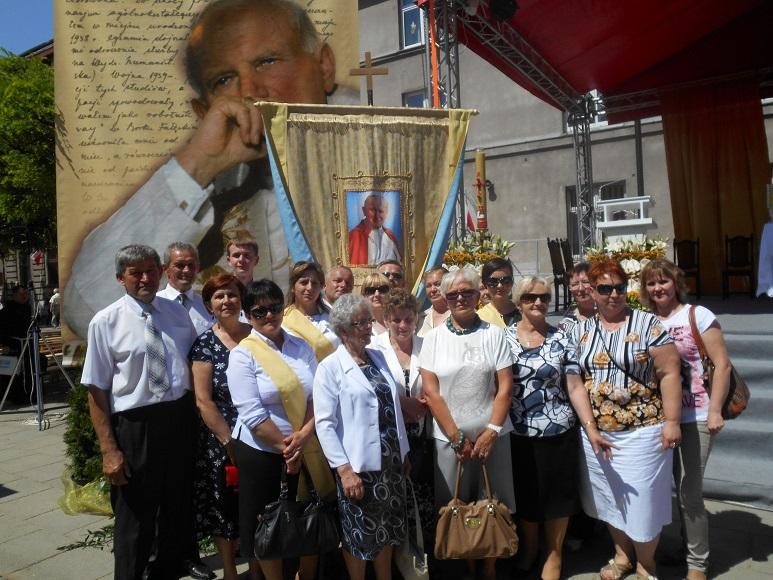 Udział delegacji dekanatu krzepczowskiego w Święcie Eucharystii w Łodzi