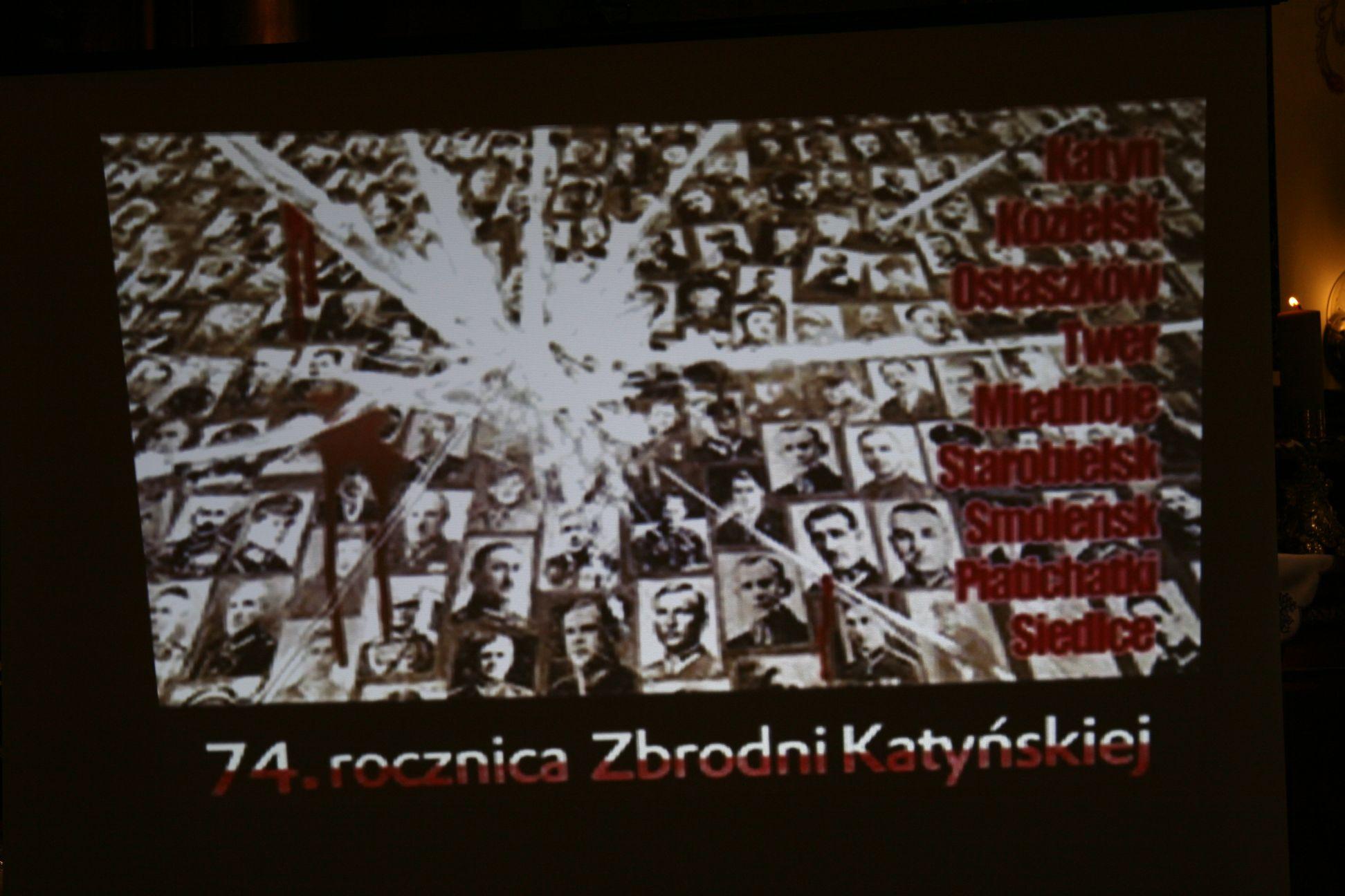 Przedstawienie Katyń 2014