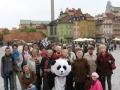 Pielgrzymka do Warszawy z parafii Gomulin