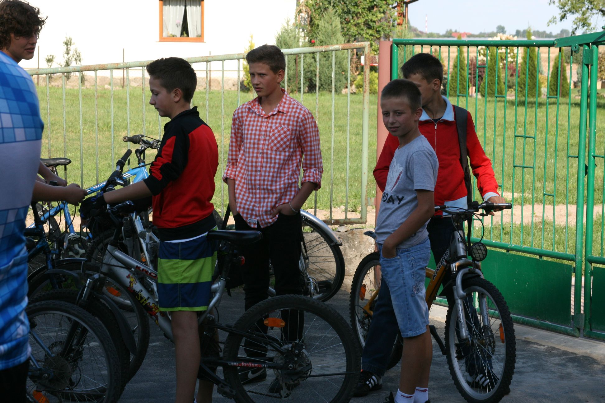 Rajd rowerowy młodzieży gomulińskiej