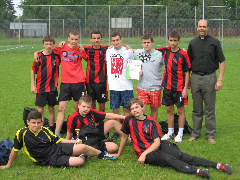 Turniej Ligi Parafialnej - Reprezentacja parafii Gomulin