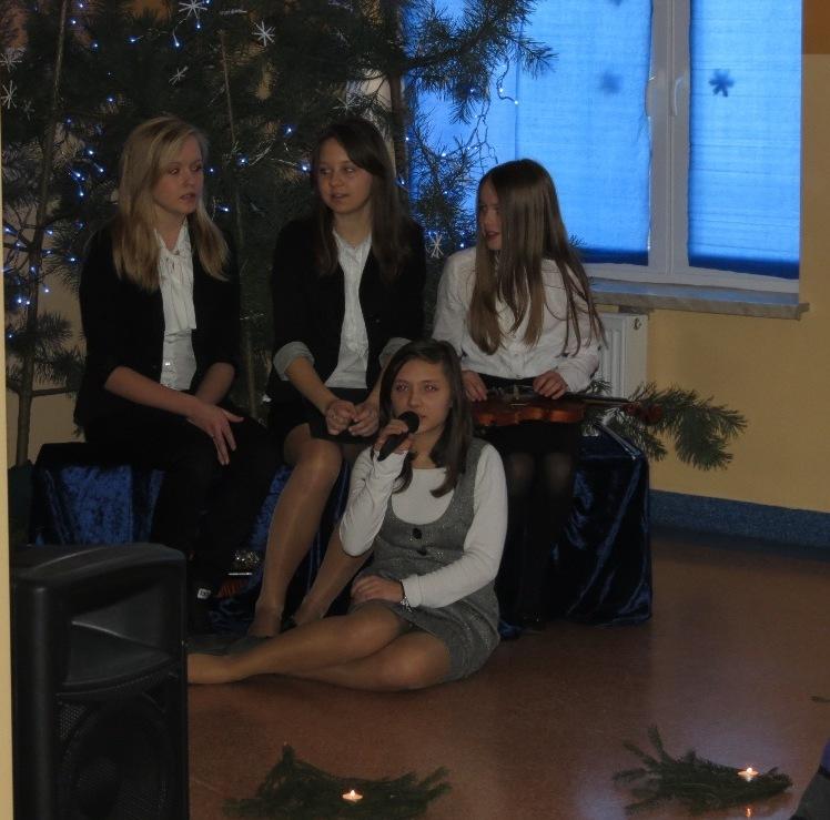 Wigilia w Szkole Podstawowej w Gomulinie